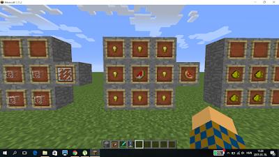 minecraft crafting ragyogó dinnye