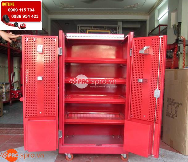 Tủ đồ nghề đựng dụng cụ 5 ngăn cao cấp có bánh xe kéo