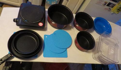 portable kitchen gear