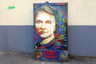 Sunday Street Art : Berty Albrecht - Illustres ! C215 autour du Panthéon - rue Saint Jacques - Paris 5