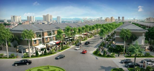 Cảnh quan dự án An Phú Shop Villa - KĐT Nam Cường