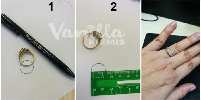Cara Ukur Size Cincin Emas