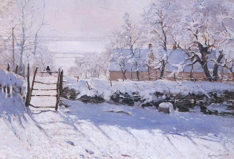 Artventures: Monet's Paintings of Snow