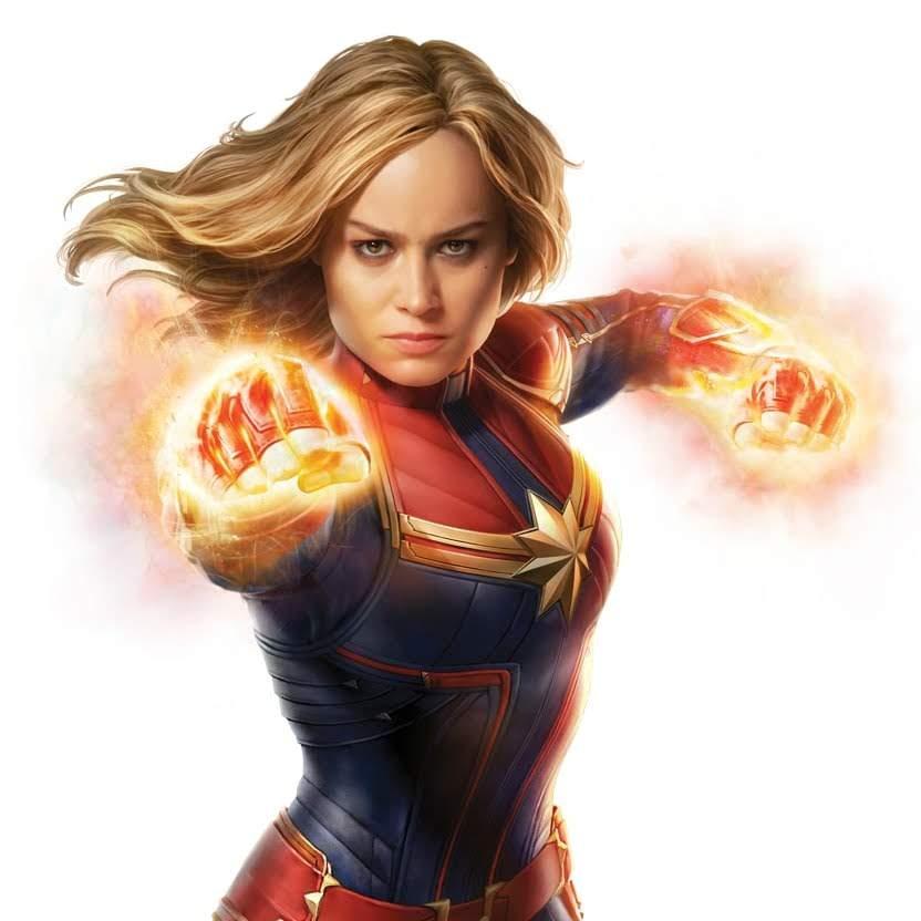Captain Marvel : 封切り前なので当然、映画を観てもいないのに、失敗作と決めつけて、酷評する「キャプテン・マーベル」潰しが、ネット上で始まりつつあるので、お気をつけください ! !