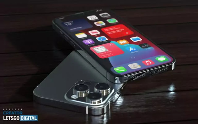 iPhone 13 Pro with better screen