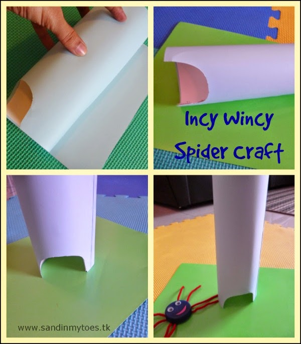 How to make Incy Wincy Spider Craft