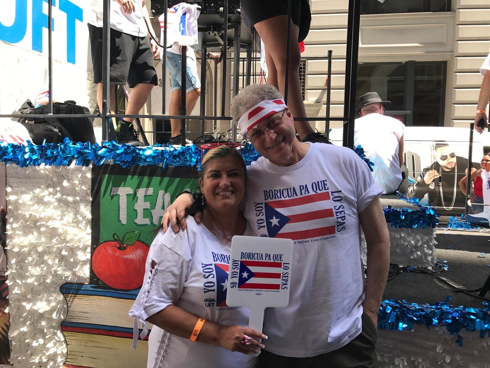 Nyc Educator Uft At Puerto Rican Day Parade