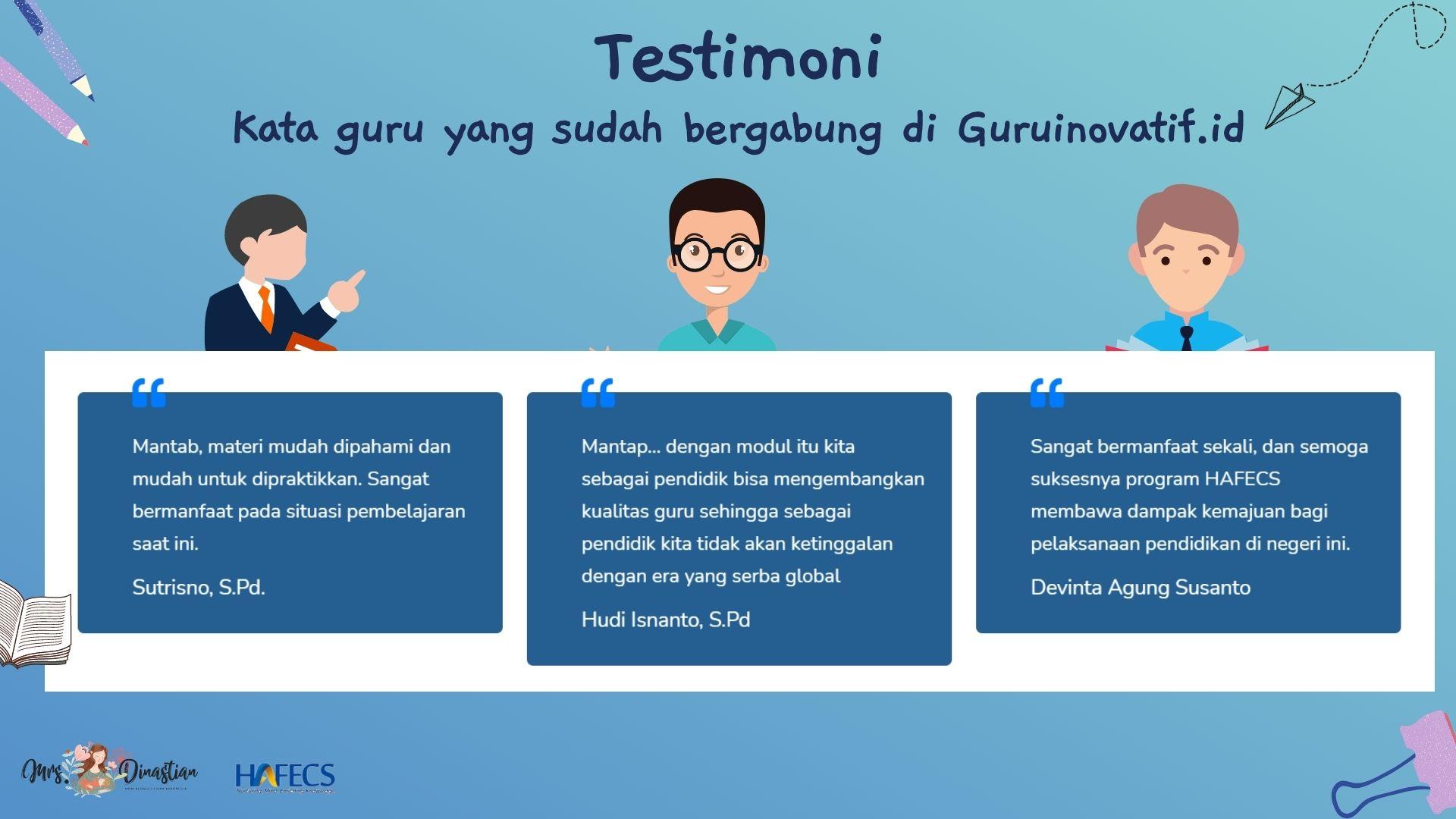 Testimoni Guruinovatif.id