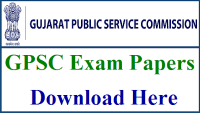 GPSC OLD QUESTION PAPERS WITH ANSWERS PDF