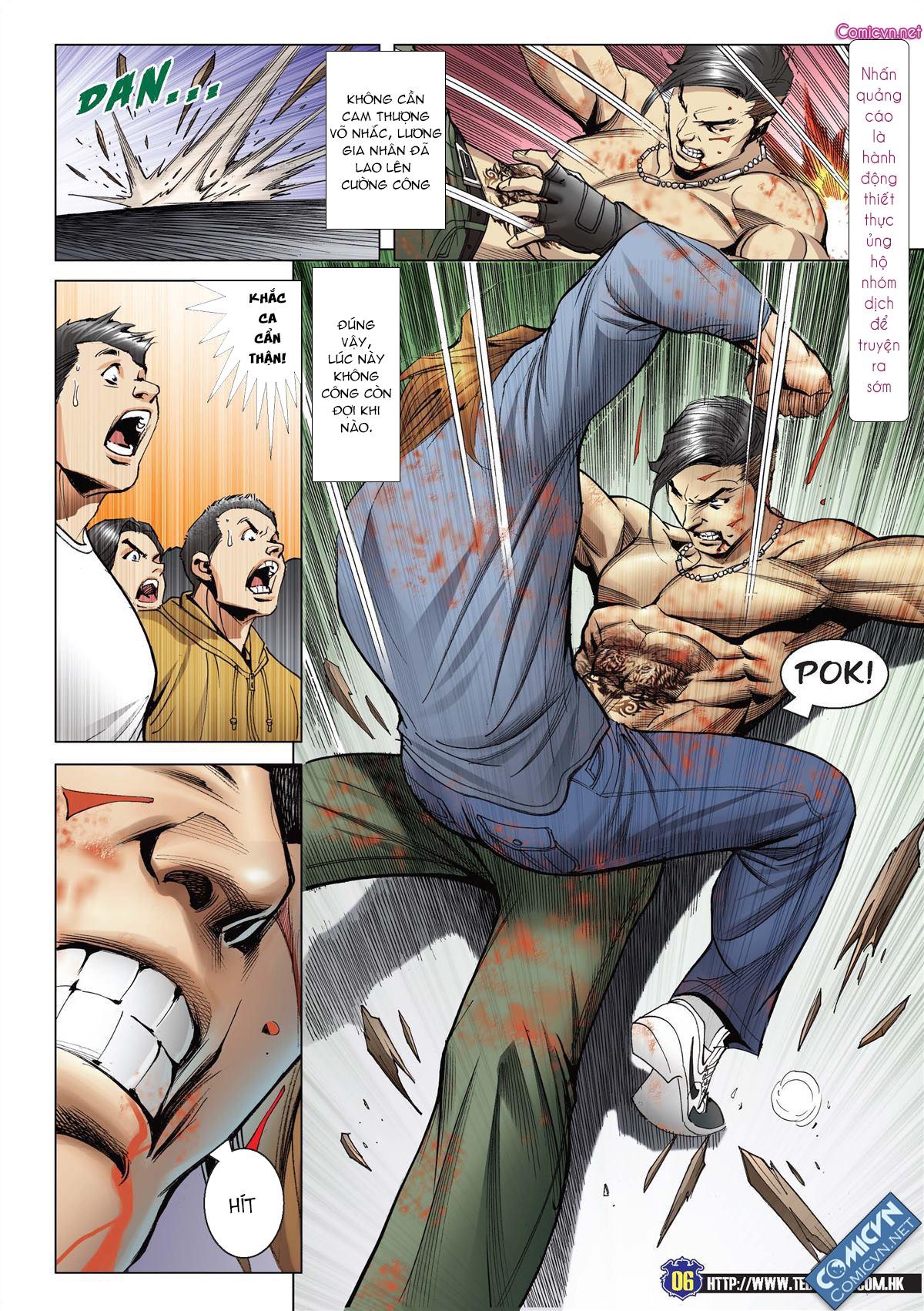 Người Trong Giang Hồ chapter 2138: thắng hết khí thế thua vì đen trang 4