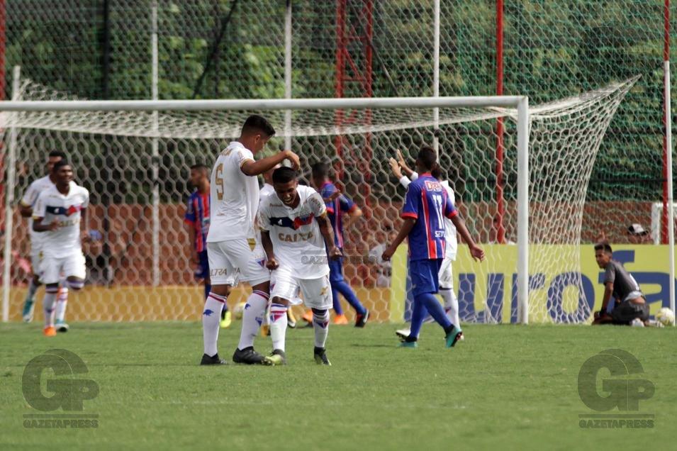 A participação dos times cearenses na Copa São Paulo de Futebol Júnior teve  um bom início na rodada de abertura. Ceará e Fortaleza 939344b87fbd7