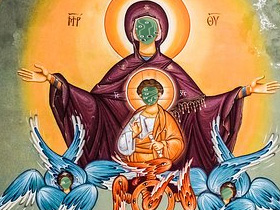 聖母(素材使用)
