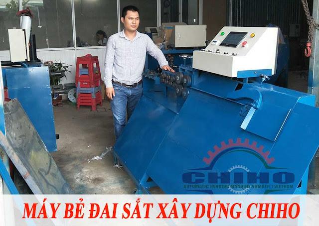 Địa chỉ bán máy bẻ đai sắt xây dựng, chất lượng, giá rẻ tại TPHCM