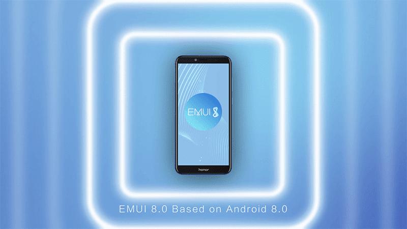 EMUI 8.0 skin!