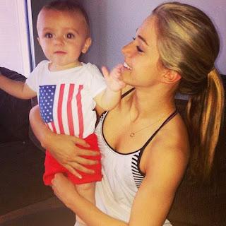 baby and Kealia Ohai
