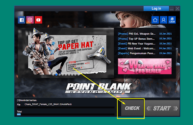 Check Point Blank Zepetto - Gangguan koneksi internet dari komputer ke server PB Zepetto