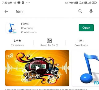 FDMR app install