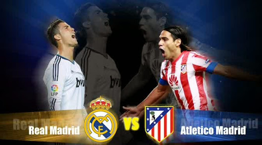 Hasil Pertandingan Atletico Madrid vs Real Madrid dengan Skor 1-0