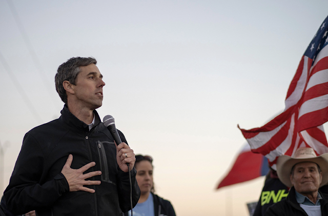Beto O'Rourke: Being a white male doesn't put me at disadvantage