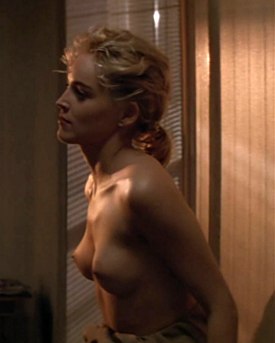 Above told Sharon stone naked at beach