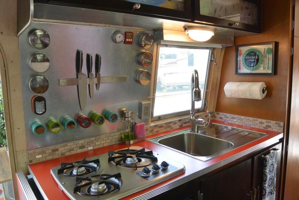 Airstream Kitchen Cabinets