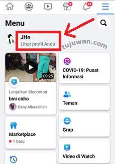 Cara Menghapus Foto Profil FB di HP Android