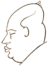 Caricatura de Rudolf Spielmann