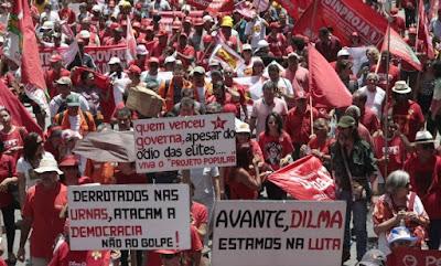 Manifestações em Favor de Dilma e Lula - Blog do Asno