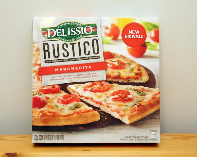 Delissio Rustico Margarita Pizza