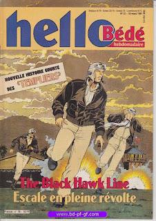 Hello-Bébé, numéro 12, 1991, The Black Hawk Line: escale en pleine révolte