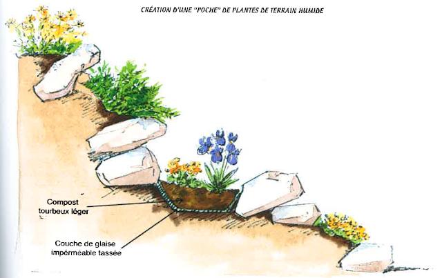 plantations jardin de rocailles