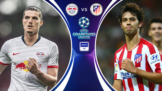 موعد مباراة أتلتيكو مدريد ولايبزج في دوري أبطال أوروبا والقنوات الناقلة