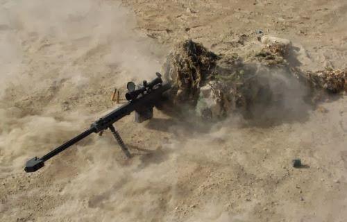 Sniper di gurun