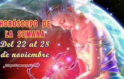☀️ Horóscopo de la semana: Del 22 al 28 de noviembre