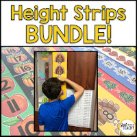 Non-Standard Measurement Height Strips Bundle