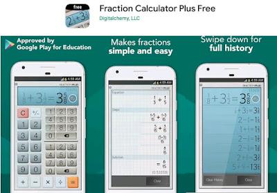 kalkulator pecahan lengkap android