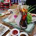 韓國吃喝|釜山札嘎其市場《洣鼎生魚片店》,豐富什錦魚生片拼盤