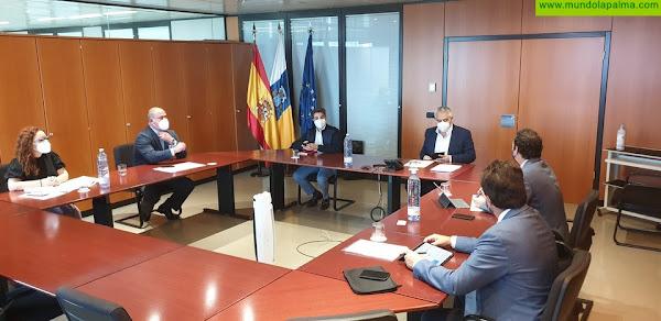 Hacienda analiza con Asinca los desafíos inmediatos del sector industrial canario