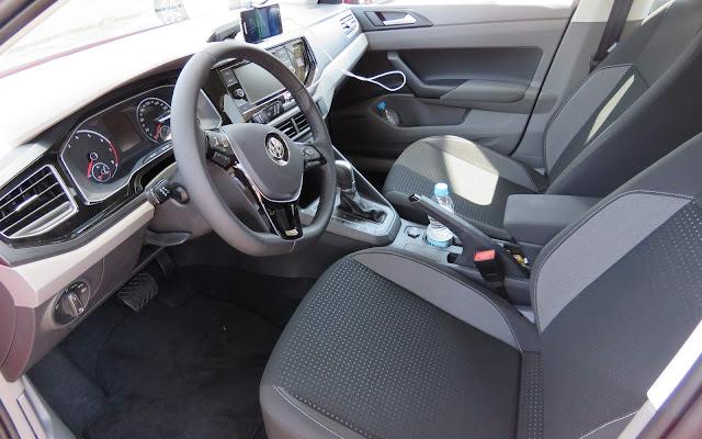 Novo Polo 200 TSI Automático - interior