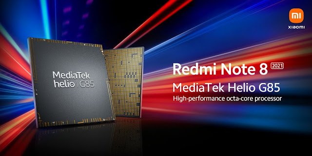 Redmi Note 8 2021 to launch soon - Comes with a MediaTek Helio G85 as per official poster | TechNeg