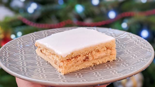 recette, carrés à l'orange, biscuits au mascarpone, pâte sablée, fondant rapide, glaçage au sucre glace, noël, idées recettes
