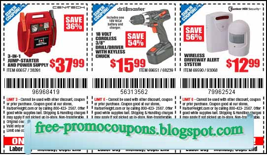 Harbor freight tools coupons printable