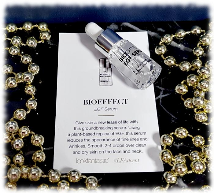 Tiny Bioeffect EGF Serum bottle & description card