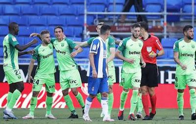 Video Espanyol 0-1 Leganes: Vòng 34, VĐQG Tây Ban Nha