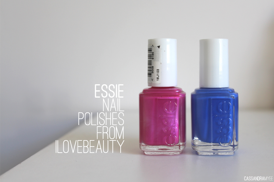 ESSIE | Nail Polishes from ilovebeauty | CassandraMyee | NZ Beauty Blog