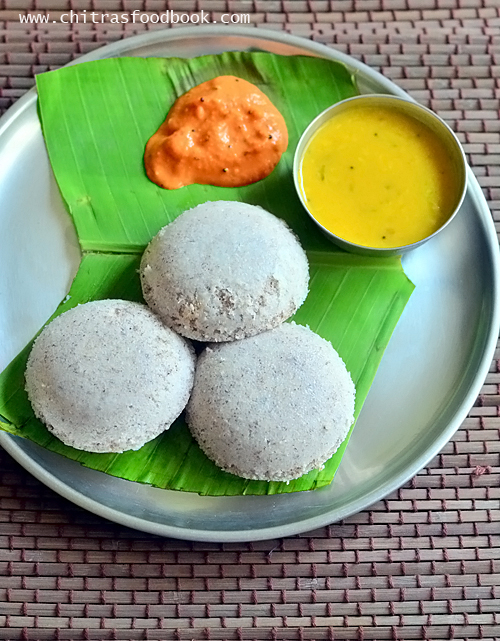 Black rice idli dosa recipe