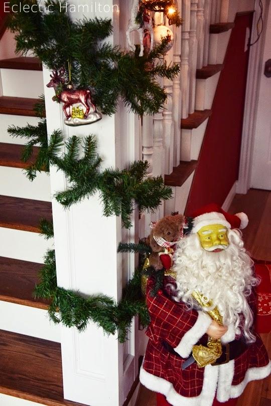 Weihnachtsdeko Amerikanisch weihnachten im hamilton das treppenhaus eclectic hamilton
