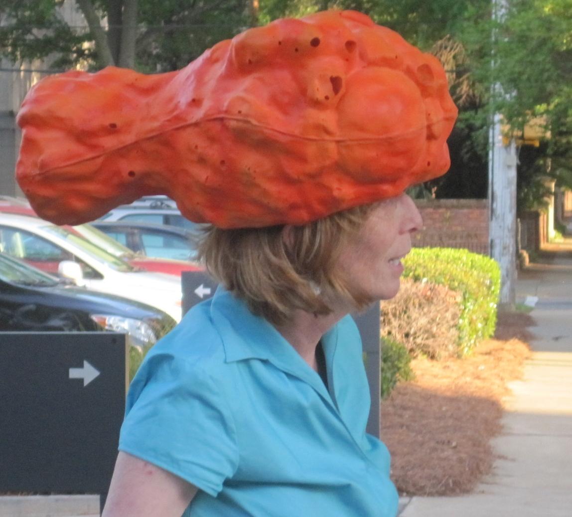 Buffalo chicken wing hat