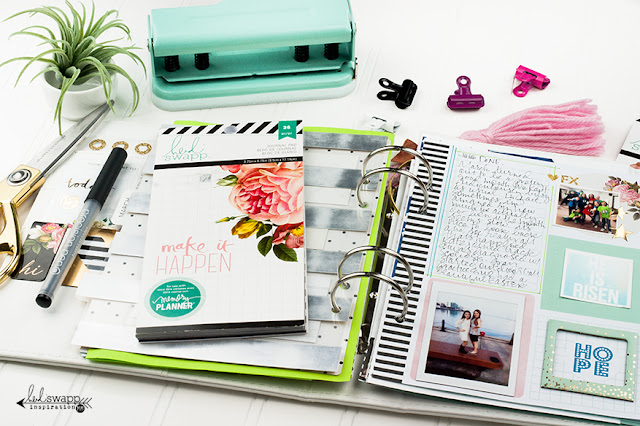 Currently...in my Memory Planner | @MaggieWMassey for @HeidiSwapp