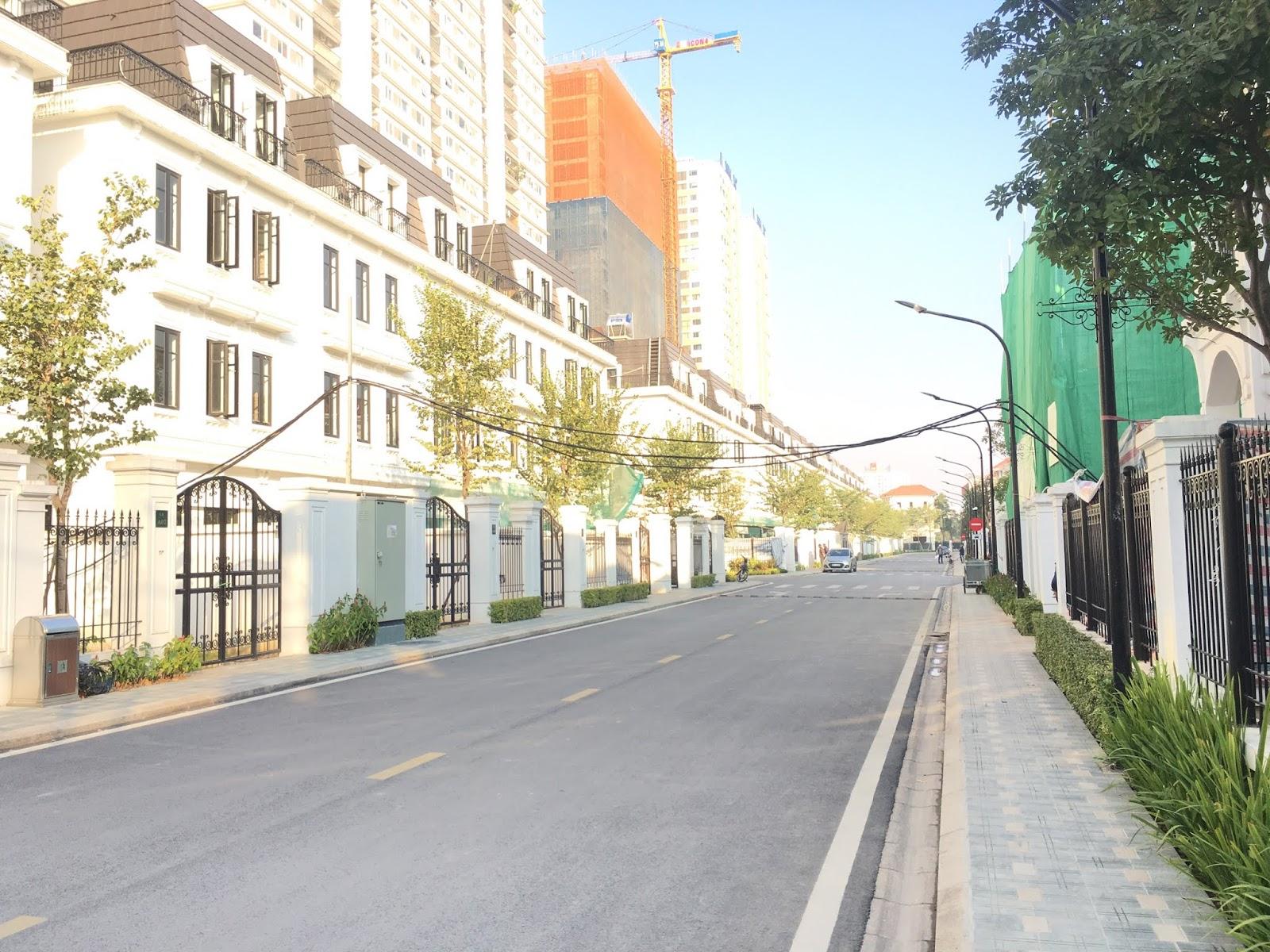 Căn shophouse Embassy garden